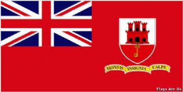 Gibraltar Civil Ensign